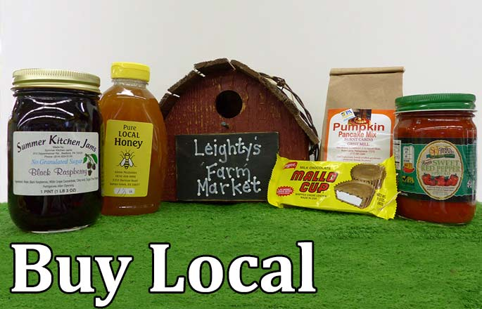 Buy Local at Leighty's